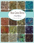 Bear Creek Batiks Jelly Roll by Moda