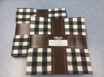 Mammoth Flannel Black Plaids Raggy Cakes Quilt Kit, Robert Kaufman