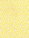 Cotton Tale Farm Flannel CF5828 Yellow Chicks, Timeless Treasures