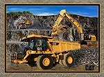 Earthworks 10100 Cat Building Roads Panel, Print Concepts