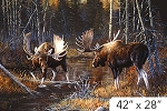 Naturescapes Majest Moose DP21825 36 Digital Panel Northcott
