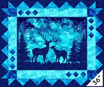 Artisan Spirit Imagine Digital Panel 22565 46 Deer, Northcott