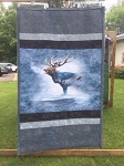 Call of the Wild Elk P4397 483 Quilt Kit, Hoffman