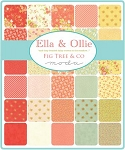 Ella Ollie Charm Pack, Fig Tree by Moda