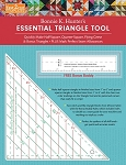 Fast 2 Cut Essential Triangle Tool, Bonnie Hunter Ruler