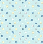 Sleepy Bear Flannel F1435 11 Stars Aqua, Henry Glass