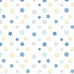 Sleepy Bear Flannel F1435 14 Stars White, Henry Glass