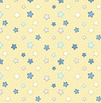 Sleepy Bear Flannel F1435 44 Stars Yellow, Henry Glass