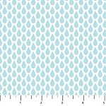 Once Upon A Cloud Flannel F21922 62 Mini Rain Drops, Northcott