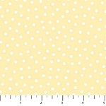 Once Upon A Cloud Flannel F21925 52 Yellow Dots, Northcott