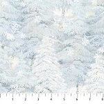 Enchanted Forest Flannel F22303 41 Snow Trees, Northcott