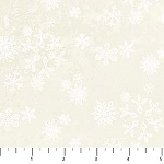 Enchanted Forest Flannel F22305 11 Cream Snowflakes, Northcott