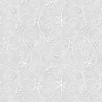 Arctic Antics Flannel F6534 90 Silver Snowflakes, Shelly Comisky by Henry Glass