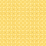 Cuddle Bug Flannel F6699 44 Yellow Circle Dots, Henry Glass