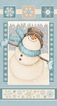 I Still Love Snow Flannel F6792P 11 Snowman Panel, Henry Glass