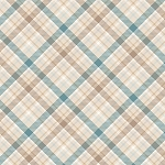 I Still Love Snow Flannel F6794 13 Plaid, Henry Glass