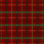 Woodland Retreat Flannel F6806 88 Red Plaid, Henry Glass