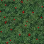 Woodland Retreat Flannel F6808 66 Evergreen, Henry Glass