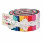 2015 Grunge Jelly Roll, Basic Grey by Moda