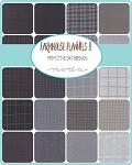 Farmhouse Flannels II Fat Quarter Bundle, Primitive Gatherings by Moda