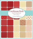 Farmhouse Red Charm Pack, Minnick & Simpson by Moda