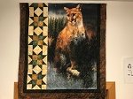 Call of the Wild Mountain Lion Star Quilt Kit, Hoffman