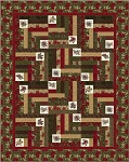 Forever Green Antler Quilt Design Quilt Kit, Holly Taylor by Moda