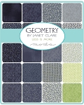 Geometry Charm Pack, Janet Clare by Moda