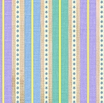 Happy Camper 3125 15 Stripe Lavender Aqua, Studio E