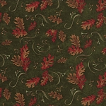 Trails End 6492 17 Pine Small Oak Leaves, Holly Taylor Moda