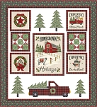 Homegrown Holidays Quilt Kit, Deb Strain by Moda