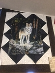 Digital Wolf Panelmania Quilt Kit, Northcott