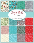 Jingle Birds Charm Pack, Keiki by Moda