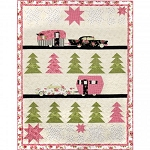 Welcome Home Flannel Glamping Quilt Kit, Maywood Studio