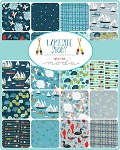 Lakeside Story Charm Pack Mara Penny by Moda