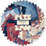 Liberty Lane 5 Inch Charm Pack Squares Wilmington Prints