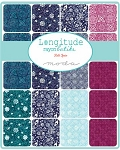 Longitude Batiks Jelly Roll, Kate Spain by Moda
