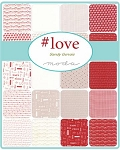 Love Charm Pack, Sandy Gervais by Moda