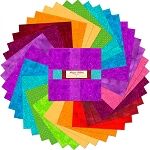 Magic Colors Mini Layer Cake Squares Wilmington Prints
