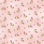 Welcome Home Flannel F8363 P Pink Rosebud, Maywood Studio