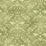 Welcome Home Flannel F8365 G Green Scroll, Maywood Studio