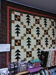 Migration Forest Flannel Quilt Kit, Holly Taylor by Moda