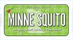 Minne Squito Row by Row 2018 License Plate