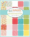Mamas Cottage Jelly Roll, Deb Strain by Moda