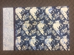 MN Hockey Batik N2877 19 Navy Pillowcase Kit, Hoffman Exclusive Batik