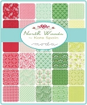 North Woods Charm Pack, Kate Spain by Moda