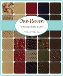 Oak Haven Charm Pack, Kansas Troubles by Moda
