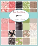 Olive's Flower Market Charm Pack, Lella Boutique by Moda