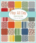 Play All Day Charm Pack, American Jane by Moda