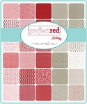 Project Red Charm Pack, Sweetwater by Moda